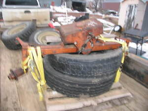 Allis Chalmers Tractor Wide Front End Wd Wd45
