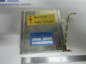 High Voltage Ps From Oscilloquartz 3102 Cesium Frequency Standard Atomic Clock