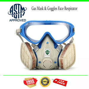 Safety Breathing Masks Particulates Dust Asbestos Mold Toxic Dust Respirator
