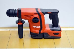 Hilti Te 6 A22 04 Cordless Rotary Hammer Drill Avr With Cpc Battery Brand New