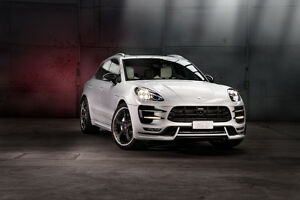 Techart Macan Turbo Front Spoiler 100 Genuine Parts Usa Seller