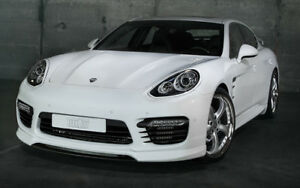 Techart Panamera Turbo 2014 Front Spoiler I 100 Genuine Parts Usa Seller