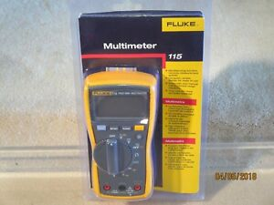 Fluke 115 True Rms Multimeter New In The Package