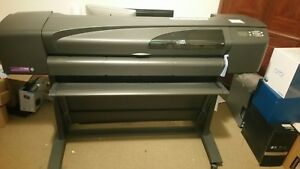 Hp Designjet 800 c7780b 42 Wide Large Format Printer plotter