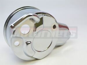 Chrome Gm Chevy Saginaw Power Steering Pump Reservoirs Only Cylindrical Bolt On
