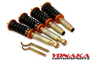 Yonaka Honda Cr V Crv Street Track Lowering Coilovers Shocks Springs 96 01