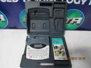 Brother P touch Pt 1800 Label Maker Printer With Storage Case