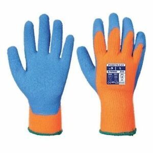 Portwest A145 Cold Grip Crinkle Coated Safety Work Gloves Pick Size