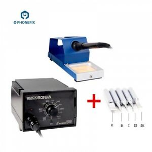 60w Quick 936a Soldering Iron Quick Smd Esd Soldering Station For Phone Repair