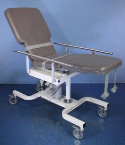 Biodex Medical Model 056 605 Deluxe Ultrasound Table With Warranty