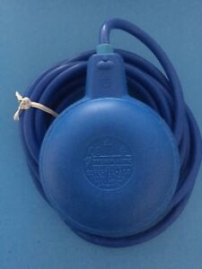 Float Switch For Drinking Water Level 17 Ft Cord made In Italy