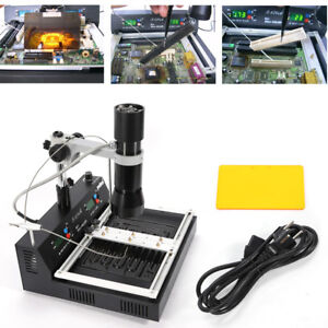 T 870a Bga Infrared Smt Smd Repair Welder Soldering Rework Placed The Pcb Board