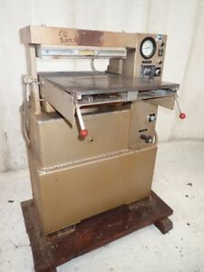 50 Ton Phi Hydraulic Molding Platen Lab Post Press