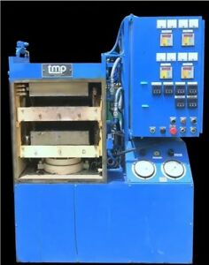 Hydraulic Post Press Tmp 75 Ton Electric Heat Platen Molding Press