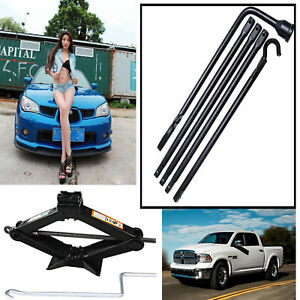 Lug Wrench Scissor Jack For Spare Tire Replacle For Dodge Ram 1500 2002 2015