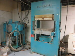 450 Ton Hydraulic Molding Platen Post Press W Pump