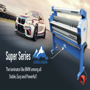 Usa 110v 55 Full auto Low Temp Wide Format Cold Laminator With Heat Assisted