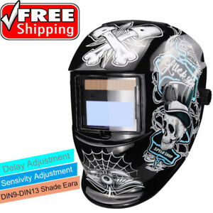 Solar Auto Darkening Welding Electric Mask Helmet Welder Cap Welder Lens Eyes