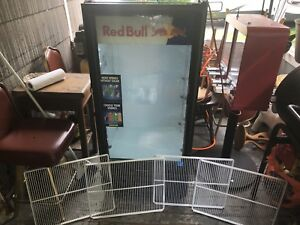 Glass Door Red Bull Merchandiser Refrigerator Cooler Imbera Vr 10 7490