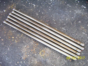 Vintage Ford 3600 Gas Tractor Engine Push Rods Look Good 1966