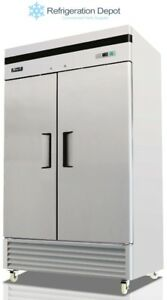 Migali C 2fb 35 hc Reach in Freezer Double Door 30 Cu ft