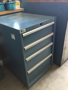 Lista 4 Drawer Industrial Tool Cabinet 23 X 29 X 34