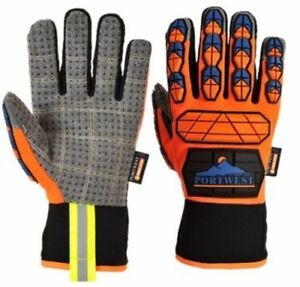 Portwest A726 Aqua seal Waterproof Impact Resistant Work Gloves Pick Size