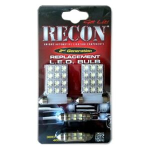 Recon 264162 Standard Led Interior Dome Light Bulbs For 07 14 Gmc chevy