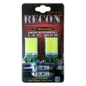 Recon 264162hp High Power Led Interior Dome Light Bulbs For 07 14 Gmc chevy