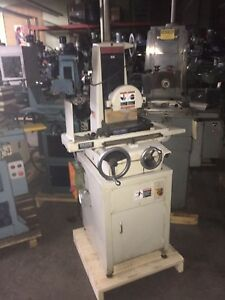Harig 6 X 12 Hand Feed Surface Grinder Model 612