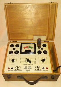 Superior Instruments Model 450 Tube Tester Working