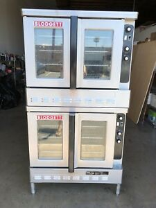 Blodgett Dual Flow Double Deck Convection Oven Model Dfg 100 In Natural Gas