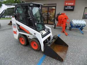 2017 Bobcat S70 Skid Steer Loader 120 Hours Erops Heat 23 Hp Kubota Diesel