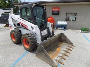2013 Bobcat S630 Skid Steer Loader 808 Hours Erops Ac heat High Flow 74 Hp