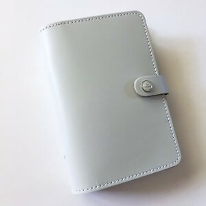 Filofax Original Stone Organizer Planner Leather