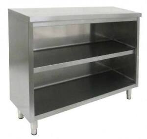 Commercial Stainless Steel Storage Dish Cabinet 14 X 36 Nsf