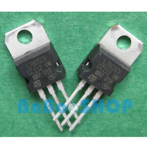 10 100 500pcs L7805cv L7805 Lm7805 7805 Voltage Regulator 5v 1 5a St To 220