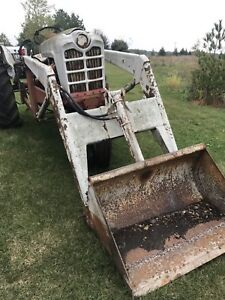 Kelley Loader W 40 Bucket Brackets For Ford Tractors Fits Many Models