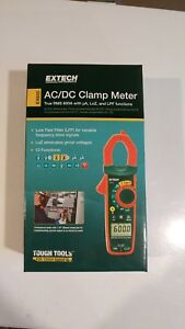 Extech Ex655 True Rms 600a Clamp Meter With Ncv And Temperature Measurements