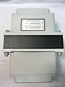 Topaz Electronics Ultra isolator 1 8 Kva Model 0121t25st 50