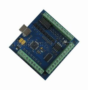 Cnc Mach3 Usb 4 Axis 100khz Usbcnc Smooth Stepper Motion Controller Card