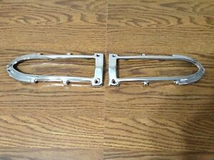 1952 Chevrolet Original Re chromed Parking Light Bezels Show Quality