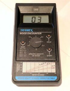 Tramex Moisture Meter Wood Encounter Wme Model