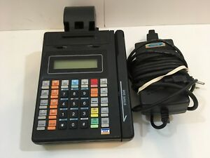 Hypercom T1e Credit Card Machine Terminal Printer Power Supply tested works
