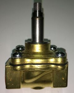 New Never Installed Parker 72218bn5ves0 Brass Body Steam Valve