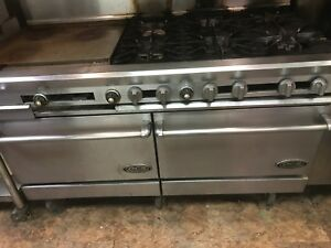 Commercial Stove 6 Burner And Two Oven With Griddle