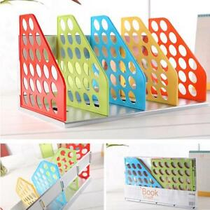 Creative Stationery Colored Books Shelf Office Home Working Desk Files Organizer