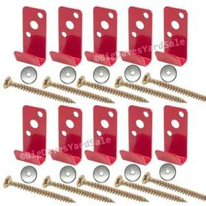 lot Of 10 Brackets For 2 1 2 Gallon Water Pressure Fire Extinguishers