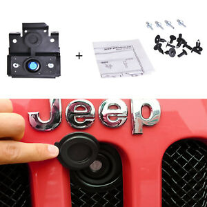 Hood Lock Anti theft Kit For 07 18 Jeep Wrangler Jk Fit Original Key Amotor
