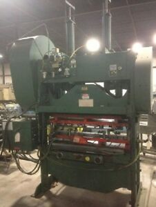 Rousselle Mechanical Press Straight Side With Windows